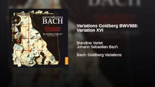Variations Goldberg BWV988: Variation XVI