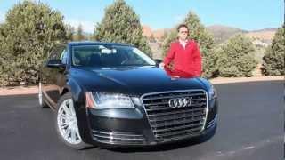 видео Audi A8 2013