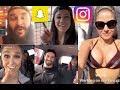 WWE Snapchat/Instagram ft Seth Rollins, Ronda Rousey, Braun Strowman, Alexa Bliss, Bayley n MORE