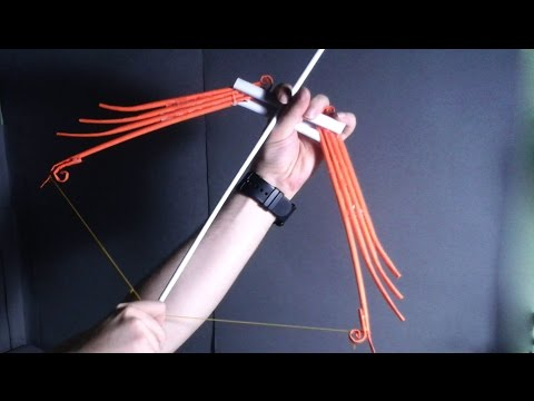  DIY  How to make a paper Dr.001 'Bow and Arrow'-easy tutorial- Dr. Origami