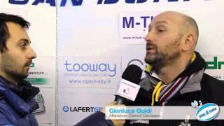 Gianluca Guidi ai mircofoni di Area di Meta