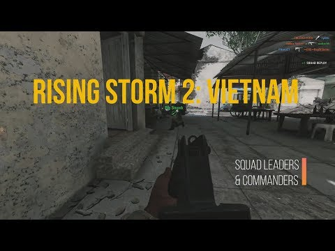 rising storm 2 Vietnam commander and squad leader guide
