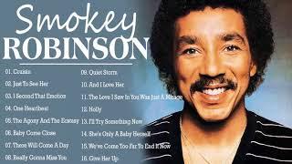 Top 20 Best Songs Smokey Robinson - Smokey Robinson Greatest Hits | Playlist