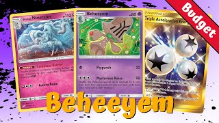 Beheeyem Item Lock Budget Unified Minds Deck, PTCGO Gameplay