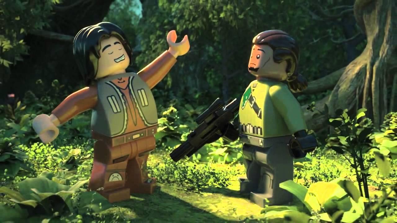 Lego Star Wars Rebelianci Historia Załogi Ducha Youtube