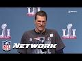 Tom Brady's Super Bowl LI Press Conference,