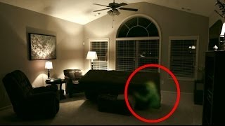 Poltergeist Ghost Caught on Tape Flips Couch. Poltergeist Diaires P4