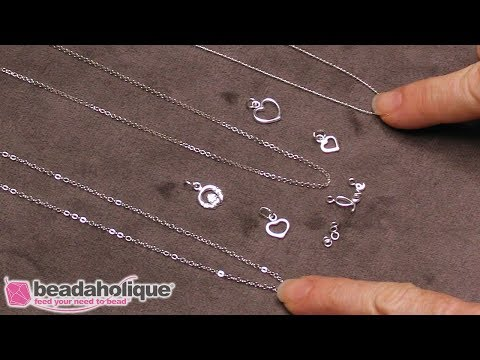 Quick, Easy & Elegant Wedding Jewelry: Sterling Silver Love Necklace