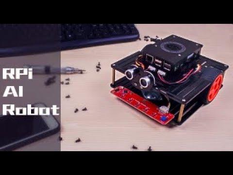 PiSmart Speech Control AI Robot Car for Raspberry Pi 3 (Line following,  obstacle avoiding, etc )