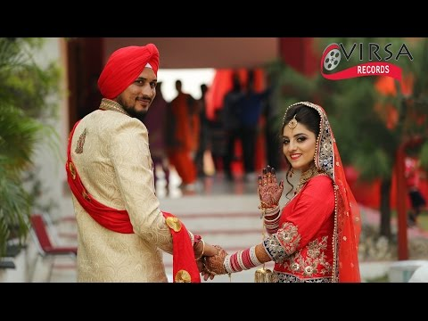 #MOST BEAUTIFUL HIGHLIGHT Navneet Kaur and Varinder Singh  Marriage Highlight 1080_p Full HD