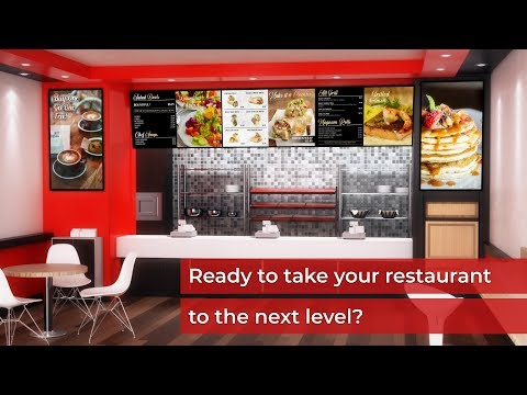 Netvisual Digital Menu Boards For Restaurants