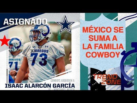 EXCLUSIVA: Isaac Alarcón el mexicano que jugará los Dallas Cowboys