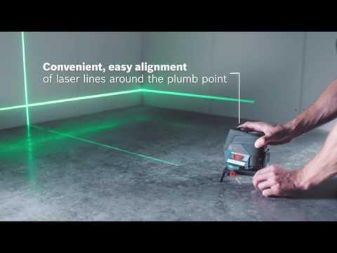 Видео обзор: Нивелир лазерный BOSCH GCL 2-50 CG + RM 2 (12 V), BM 3 clip, L-Boxx