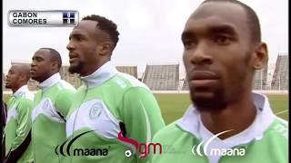 Match amical : Comores 1-1 Gabon le 15 novembre 2016