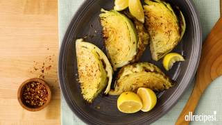 How to Make Roasted Cabbage | Side Dish Recipes | Allrecipes.com