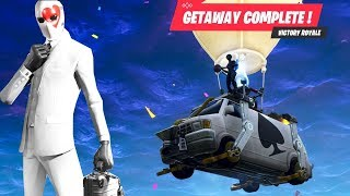 "3 Solo Squad Wins - Fortnite ""Getaway"" Mode"