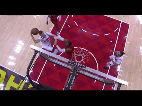 Kristaps Porzingod yams the dunk so hard on Dwight Howard he started walking in circles. Mavs are going to be nasty, don't sleep on KP.