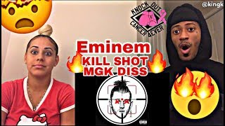 EMINEM - KILL SHOT REACTION 🔥 MGK DISS 'EXTREMELY CRAZY' MUST WATCH!