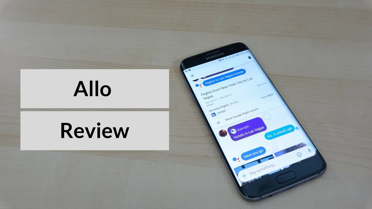 "Google Allo Review : ""Yes, That's Fine"""