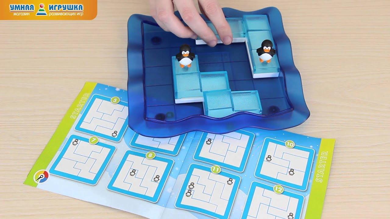 Логическая <b>игра Bondibon</b> (<b>Бондибон</b>) «<b>Пингвины</b> на льдинах ...