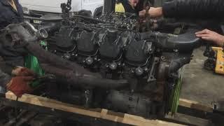 """#Двигатель OM402LA первый пуск при помощи""""Полироля для салона"""" в холодное время года! Лайфхак от DDK"""
