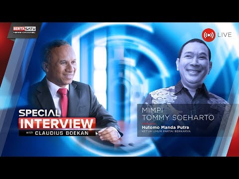 Special Interview with Claudius Boekan: Mimpi Tommy Soeharto