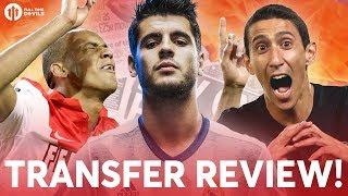 Morata, Fabinho, Di Maria?!?! | Manchester United Transfer News Review!