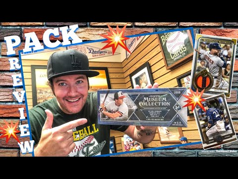 PACK PREVIEW!!™️ 2019 Topps Museum Collection Baseball Cards!