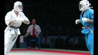 KUDO World Cup 2011. Chelnakov (Russia) vs Nakamura (Japan) SemiFinal, Division 250.