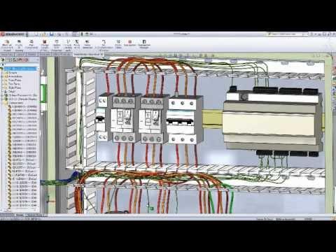 SolidWorks Electrical 3D, la solution de conception de systèmes électriques 3D