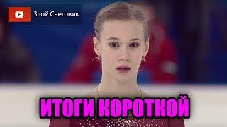 ИТОГИ КОРОТКОЙ ПРОГРАММЫ Девушки Первенство России среди юниоров 2020