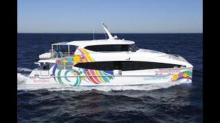24m Catamaran Ferry - Fantasea Sunrise - designed by Incat Crowther