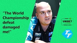 Rob Cross on 'DAMAGING' World Championship defeat | PLUS getting his confidence back!