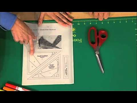Love of Quilting: Creating a Cardinal Block With Paper Piecing