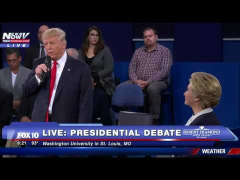 THE MOMENT At The Presidential Debate That EVERYONE Will Be Talking About - FNN