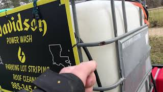 How to pressure wash a house start to finish subscribe for more