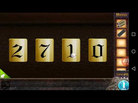 Escape Game The 50 Rooms 3 Level 20 Walkthrough Youtube