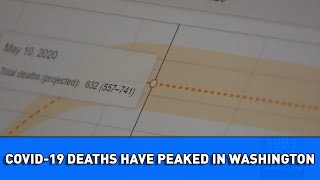 New models says COVID-19 deaths have peaked in Washington, social distancing still needed