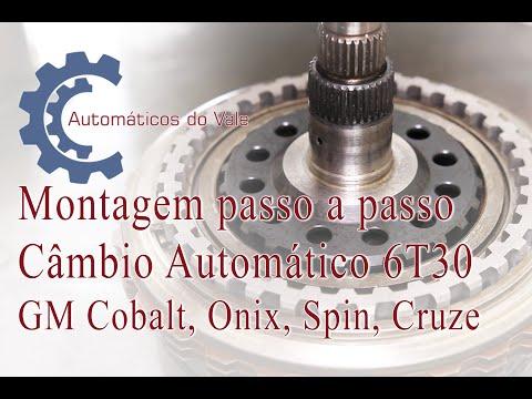 Montagem Passo A Passo Do Câmbio Automático 6T30 GM Cobalt, Onix, Spin E Cruze.