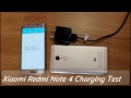 Xiaomi Redmi Note 4 Charging Test II 0 % To 100 % Charge Time II Hinid