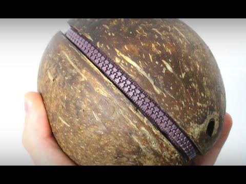 How to make a coconut jewel-box
