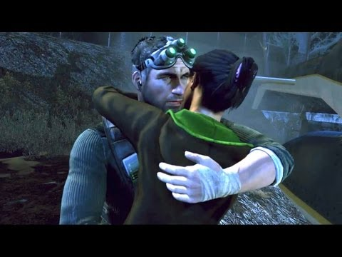 Sarah: Sam Fisher Reunites with His Daughter Splinter Cell: Conviction