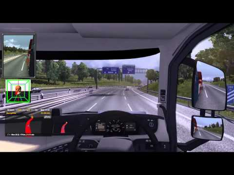 ETS2 with FreeTrack - Valladolid to Madrid