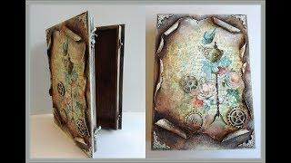 Scrapbook with Stone Paper - Scrapbooking Tutorial