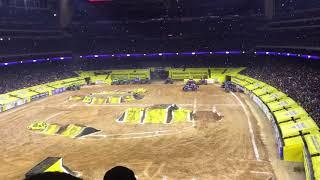 Monster Jam Houston 2018 WINNER Son Uva Digger Freestyle