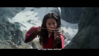 Christina Aguilera - Loyal Brave True (Film Version) - Mulan Soundtrack [Official Video]