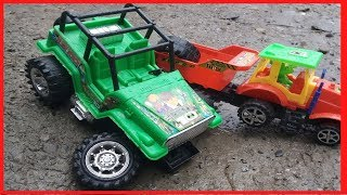 Top car toy video for children | Jeep, Excavator, Dump Truck, Transportation car | Kids Special