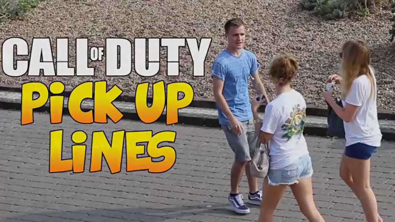"""""""Call of Duty Pick Up Lines"""" - Picking Up Girls - YouTube"""