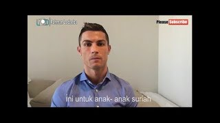 anissa sabyan - a thuna al thufuli  (anak anak suriah dan bantuan Cristiano Ronaldo )