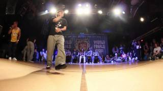 BRUCE vs POP KUN - UK Champs Popping Quarter Final 2011